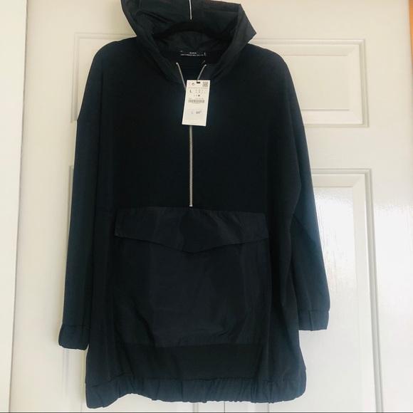 Zara hoodie / long / never worn with tags